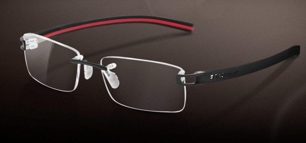 Tag Heuer Reflex Rimless Glasses South Yarra Visual Q Eyecare